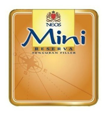 neos mini lata x50 tabaco puritos reserva cigarros java