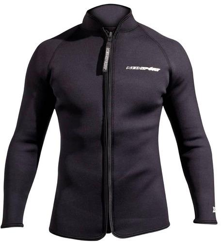 neosport 3-mm xspan jacket (negro, 4x-large) - chaqueta de b