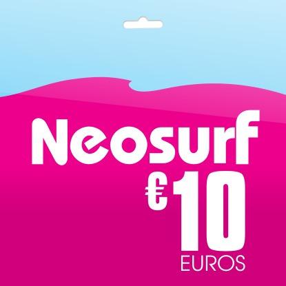 neosurf 10 euros voucher pc digital delivery