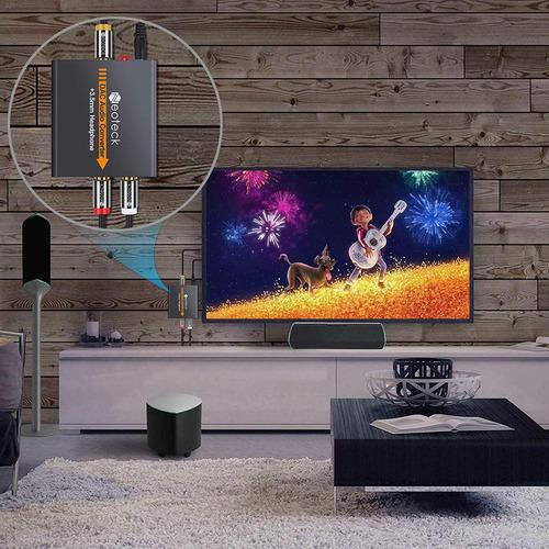 neoteck dac de digital a analógico convertidor de audio coax