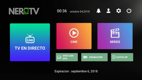 nerd tv +400 canales roku, android, smart tv's y pc