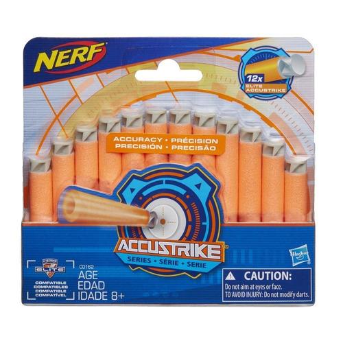 nerf 12 dardos accustrike series originales (6470)