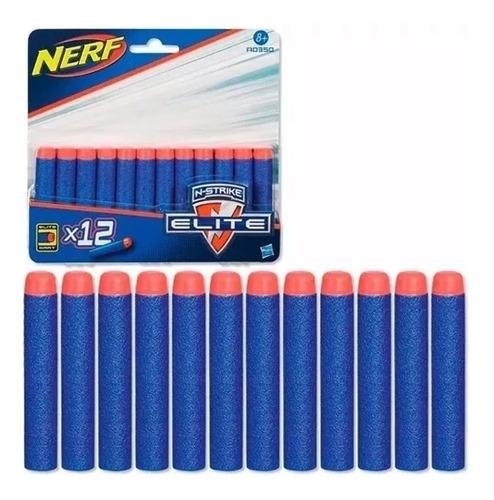 nerf dardos pistolas de juguete x12 repuestos n strike elite