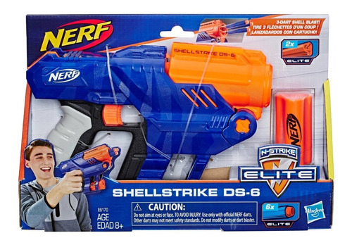 nerf elite shellstrike ds-6 oferta