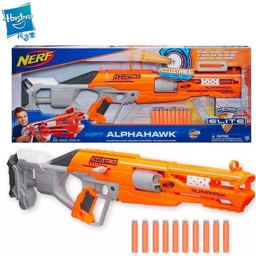 nerf escopeta n-strike elite accustrike alphahawk b8731