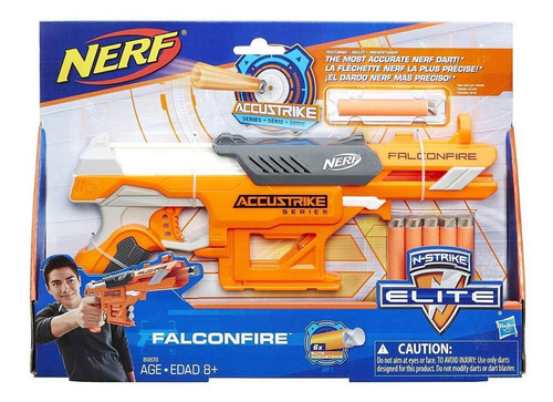 nerf falconfire n-strike elite accustrike series - lançador