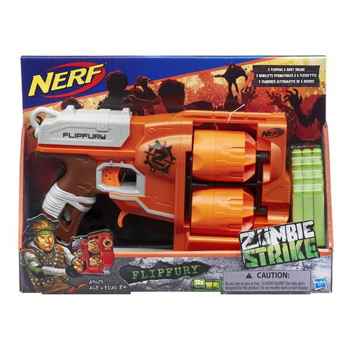 nerf flipfury zombie strike (3698)