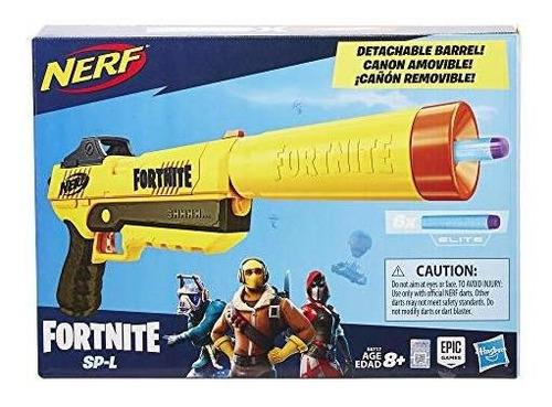 nerf fortnite sp l elite dart blaster pistola lanzador