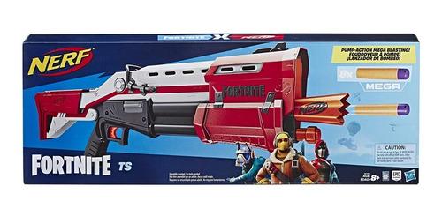 nerf fortnite ts-1 blaster lanzador de bombeo hasbro e6159