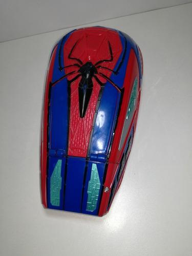 nerf hombre araña de hasbro