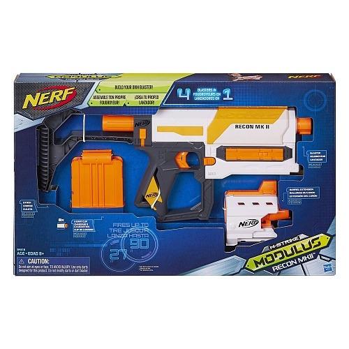 nerf - lançador n-strike modulus recon mkii - hasbro
