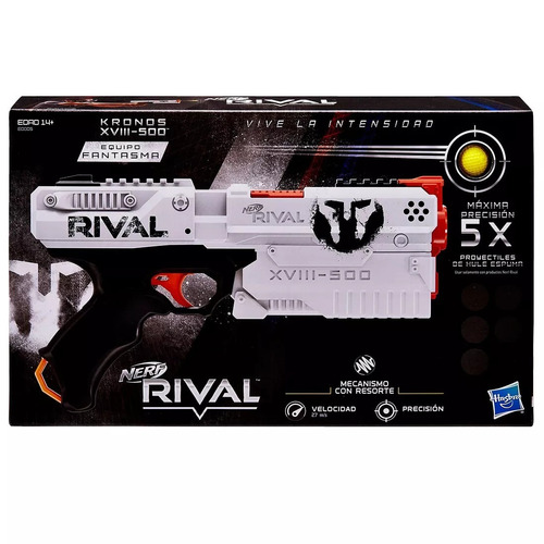 nerf lanzador rival kronos xviii-500