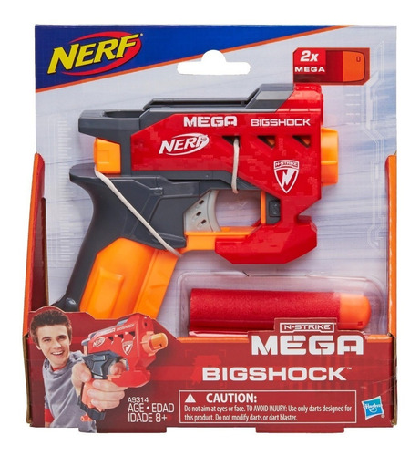 nerf mega bigshock hasbro a9314