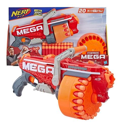 nerf megalodon n-strike mega toy blaster y 20 dardos e2849