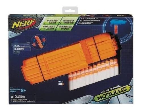 nerf modulus kit de accesorios clip reversible b1534