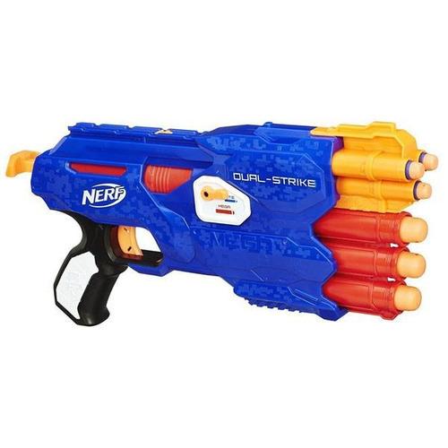 nerf n-strike elite dualstrike blaster hasbro b4619
