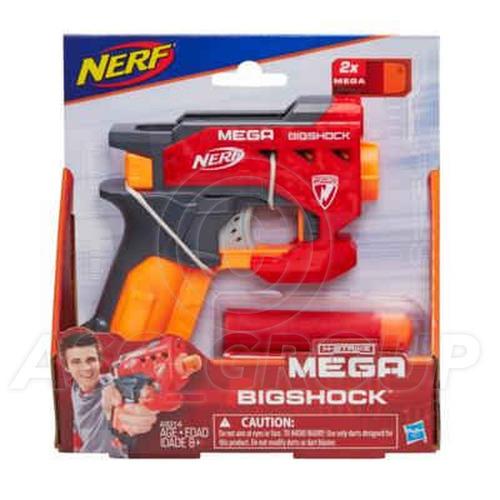 nerf n-strike mega bigshock hasbro