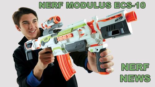 nerf n-strike modulus ecs10 lanzador pistola b1538 niños