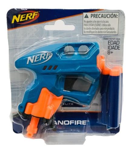 nerf nanofire elite 3 dardos hasbro