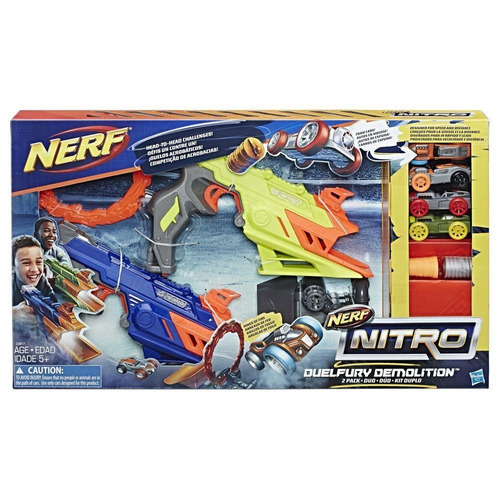 nerf nitro duelfury demolition pack de 2 c0817 hasbro