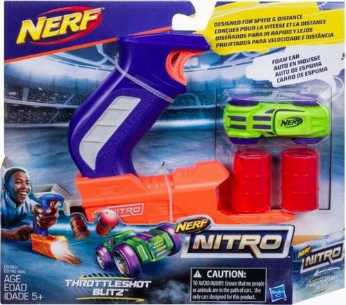 nerf nitro throattleshot lanzador (3761)