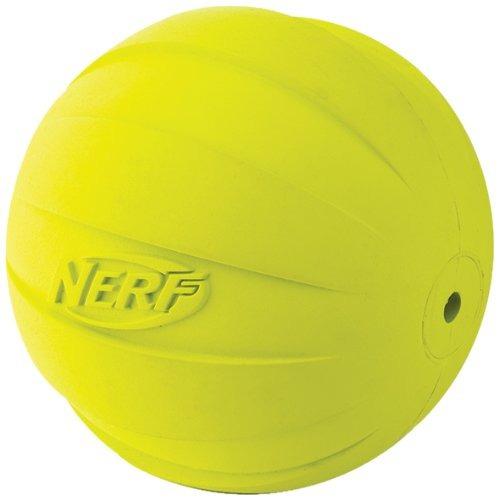 nerf perro squeak bola, 4,25 pulgadas, verde