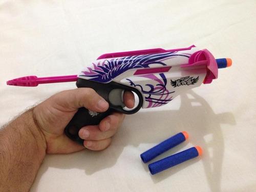 nerf rebelle estilo baioneta 3 dardos pouco uso hasbro 77,99