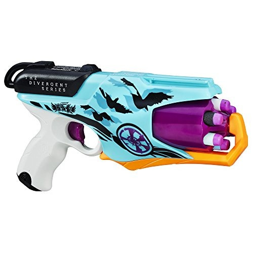 nerf rebelle la serie divergente allegiant six-shot blaster