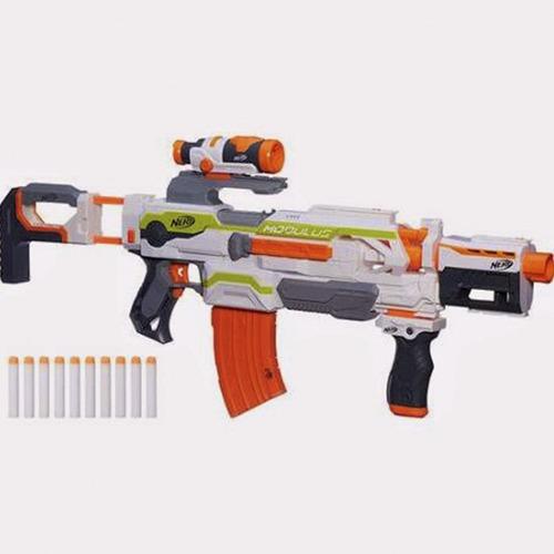 nerf rifle mas de 100 combinaciones posibles ,regalo navidad