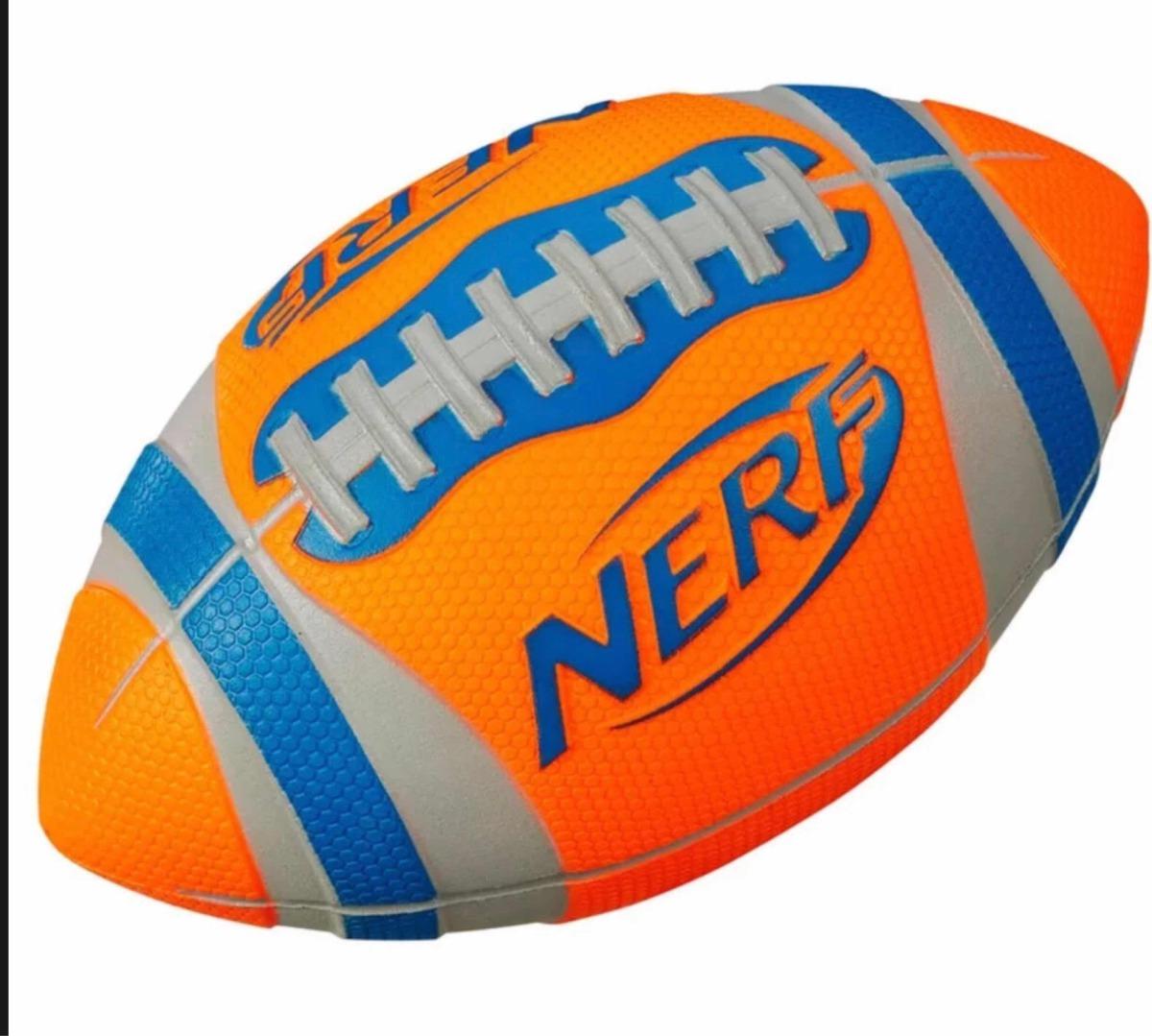 nerf sports - bola de futebol americano laranja - hasbro. Carregando zoom. 4d80bc68b7742