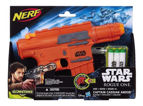 nerf star wars rogue one - captain cassian andor