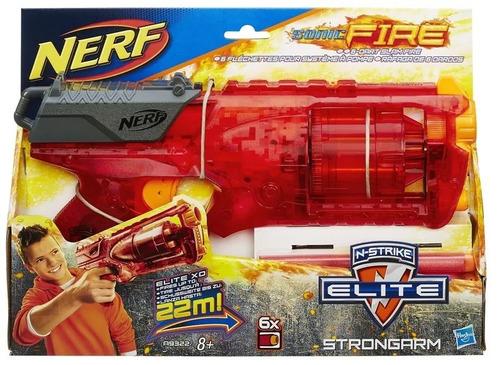nerf strongarm sonic fire serie limitada b5993 hasbro + nfe