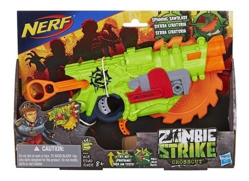 nerf zombie lançador crosscut