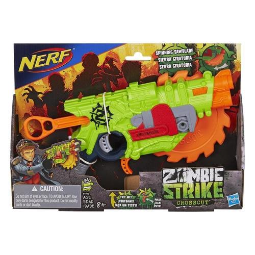 nerf zombie strike crosscut hasbro b3482
