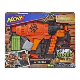 Nerf Zombie Strike Nailbiter 8 Dardos - Hasbro - Envio Grati
