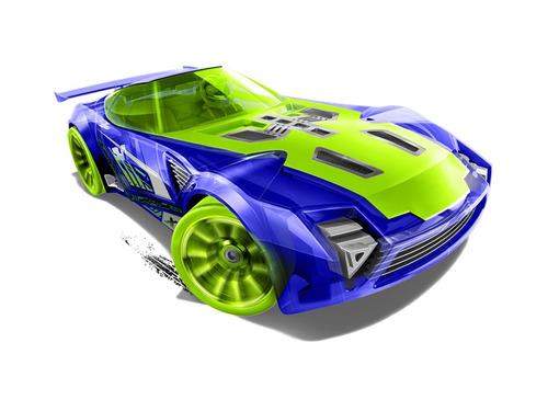 nerve hammer azul de hot wheels 139 de 250