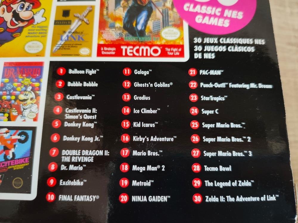 Nes Classic Edition Americano 30 Jogos - Novo