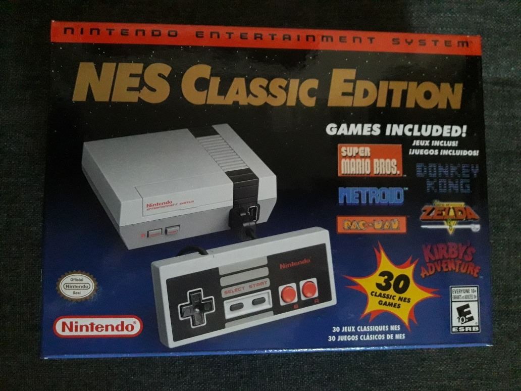 Nintendo Nes Classic Edition O Mini Nes Original 3 599 00 En