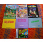 Lote Manules Nintendo 64, Nes, Game Boy Color