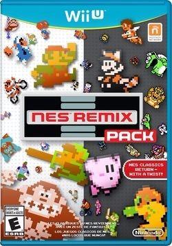 nes remix pack juego original sellado wii u