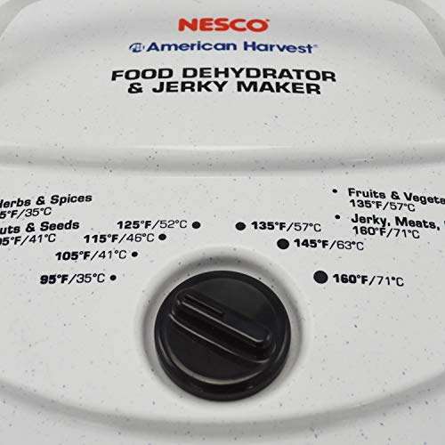 nesco fd-80a deshidratador de alimentos 4 bandejas 700v