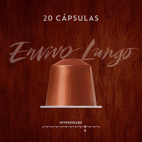 nespresso 100 cápsulas de café lungo