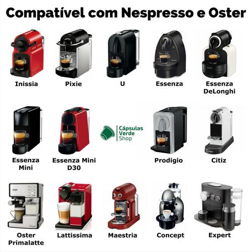 nespresso café cápsulas
