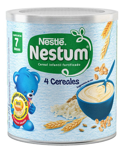 nestum - 270gr 4 cereales lata - (1 pieza)