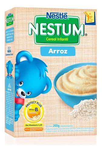 nestum cereal infantil con arroz +6m x 200 gr