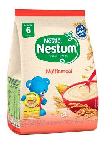 nestum multicereal sin azucar agregada x 125 gr
