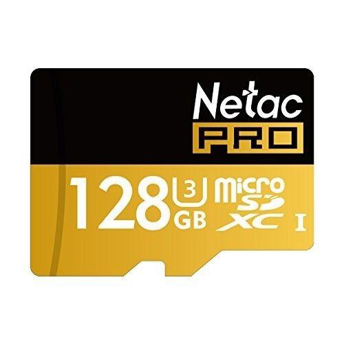netac 128gb sdxc uhs-i u3 tarjeta micro sd con adaptador