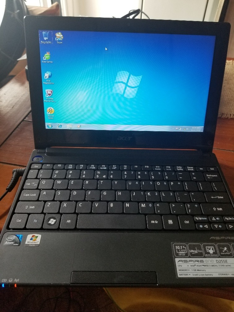 ACER ASPIRE ONE D255E DRIVER FOR WINDOWS MAC