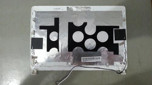 netbook acer n570 - tampa tela com antena wifi
