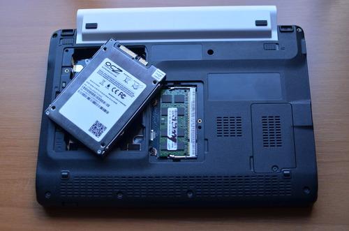 netbook acer - ssd 64gb - ram 2gb - bat. extendida - funda